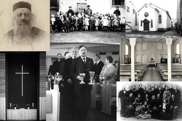 Menighetens historie - Moss frikirke