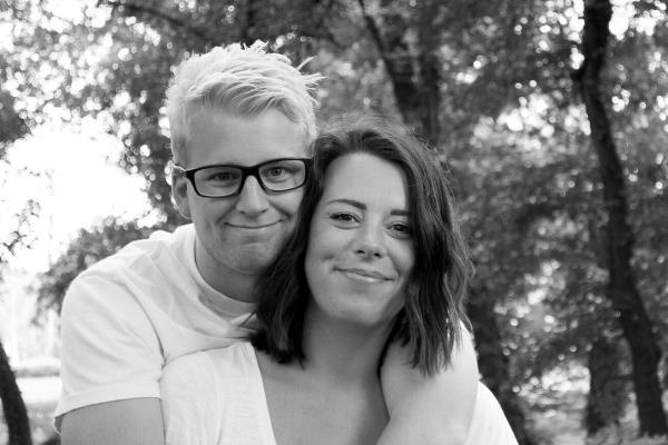 Katrine Stampe, her sammen med mannen Daniel, blir den nye familie og trosopplærer-medarbeideren i Moss Frikirke fra 1.oktober.
