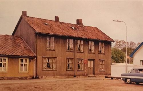 Det første menighetslokalet til Moss Frikirke. Eskelundsalen, som var en dansesal